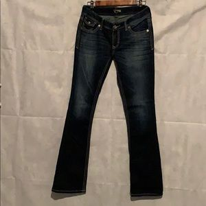 EXPRESS JEANS BARELY BOOT SIZE 4